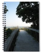 Boardwalk To The Beach Spiral Notebook