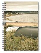 Boats At Findhorn Spiral Notebook