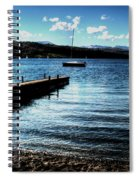 Boats In Wales Spiral Notebook