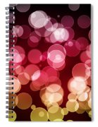 Bokeh Background Spiral Notebook