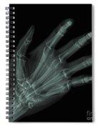 Bones Of The Hand Spiral Notebook