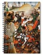 Border Terrier Art Canvas Print  Spiral Notebook