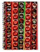 Bottle Caps Spiral Notebook