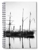 Brazilian Steamship, 1863 Spiral Notebook