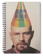 Breaking Bad Walter White Happy Birthday Spiral Notebook