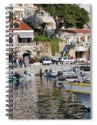 Brela Harbour Croatia Spiral Notebook