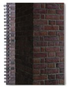 Brick Columns Spiral Notebook