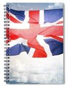 British Flag 3 Spiral Notebook
