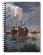 British Prison Ship Spiral Notebook