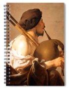 Brugghen's Bagpiper Player Spiral Notebook