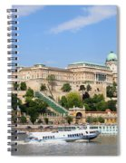 Buda Castle In Budapest Spiral Notebook