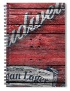 Budweiser Spiral Notebook