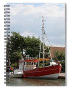 Buesum Lighthouse - North Sea - Germany Spiral Notebook
