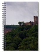 Burg Sooneck Am Rhine Spiral Notebook