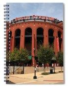 Busch Stadium - St. Louis Cardinals Spiral Notebook