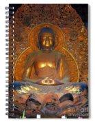 Byodo In - Amida Buddha Spiral Notebook