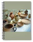 Byzantine Pottery Spiral Notebook