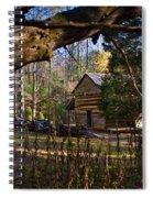 Cades Cove Cabin  Spiral Notebook