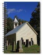 Cades Cove Primitive Baptist Church Spiral Notebook