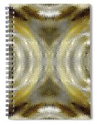 Cafe Au Lait Kaleidoscope Spiral Notebook
