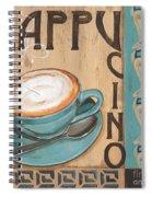 Cafe Nouveau 1 Spiral Notebook