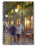 Caffe Florian Arcade Spiral Notebook