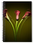 Cala Lily Spiral Notebook