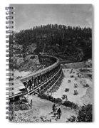 California Railroad Spiral Notebook