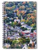 Camden Maine Harbor Spiral Notebook
