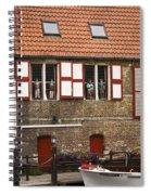 Canal Scene Spiral Notebook