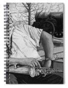 Jazz Cannonball Adderly Spiral Notebook