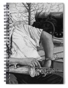 Jazz Cannonball Adderly Spiral Notebook