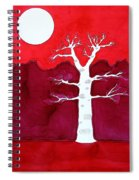 Canyon Tree Original Painting Spiral Notebook