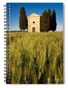 Cappella Di Vitaleta Spiral Notebook