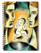 Caring Family Spiral Notebook
