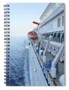 Carnival Elation Spiral Notebook