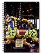 Carousel Horses Spiral Notebook