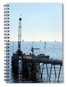 Carpinteria Pier Spiral Notebook