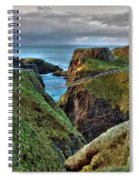 Carrick-a-rede Rope Bridge Spiral Notebook