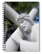 Carrying The Cross Spiral Notebook
