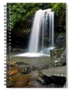 Cascading Falls Spiral Notebook