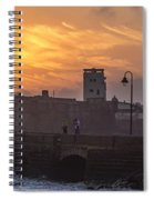 Castle Of Saint Sebastian Cadiz Spain Spiral Notebook