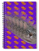 Cat Trip Pop 002 Limited Spiral Notebook