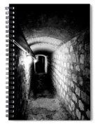 Catacomb Tunnels In Paris France Spiral Notebook