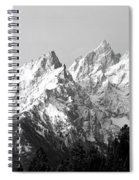Cathedral Group Grand Teton National Spiral Notebook