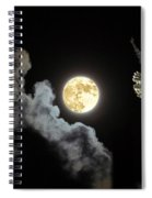 Caught By The Moon Spiral Notebook
