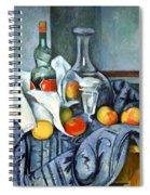 Cezanne's The Peppermint Bottle Spiral Notebook