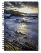 Chamoso Point In Ares Estuary Galicia Spain Spiral Notebook