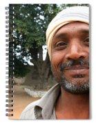 Chanderi Man Spiral Notebook