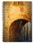 Chania Alley Spiral Notebook